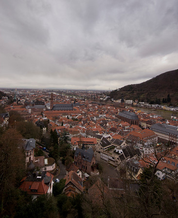 Germany, Heidelburg, View of Heidelburg SNM