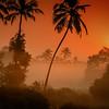 Sunrise in Tamborim, Goa,India