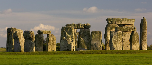 Stonehenge in evening light