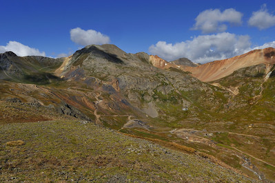 Above Silverton CO, about 12,750 feet, September 2011