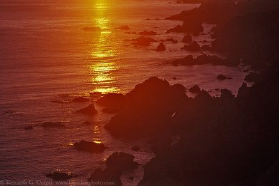 Sunset at Point Reyes. Shot on Provia F 100 with my Canon EOS 3 and scanned.