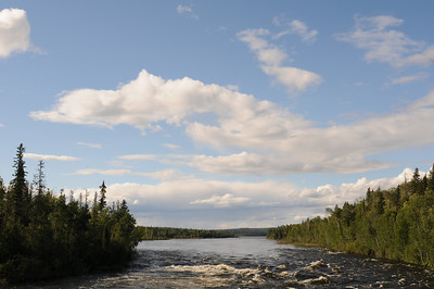 Churchill River, Saskatchewan, Canada