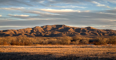 New Mexico landscape.