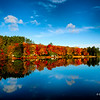 Fall Colour along the Oxtongue River, near Algonquin Provincial Park,Ontario, Canada