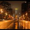 City Hall At Night. Philadelphia PA
