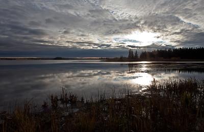 Sunrise, Tundra Narrows, Elk Island National Park
