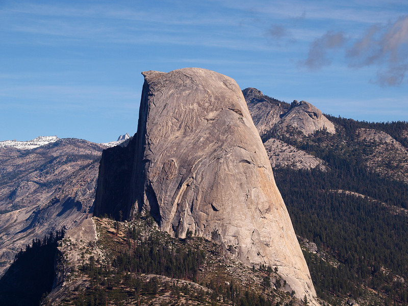 View of Half Dome from Washburn Point - 25 Oct 2010