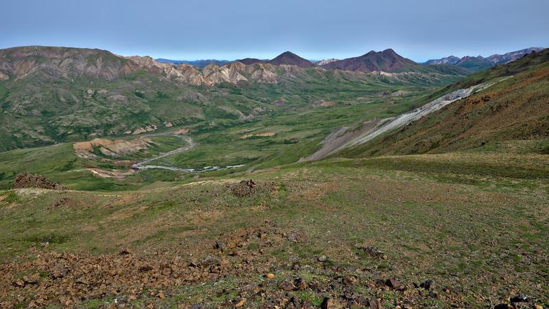 View from the Thoro Ridge