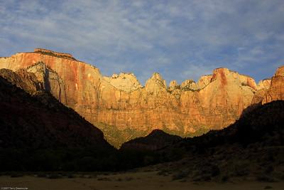 Sunrise, Zion National Park, WY, 2925