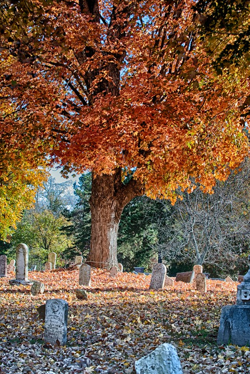 2014 Fall Foliage - Cemetary-1