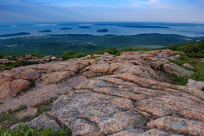 Maine, Acadia National Park, Cadillac Mountain