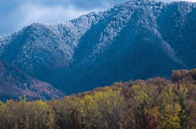 Fire and Ice. Great Smoky Mountains National Park.