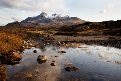 Skye, with Cuillin Mountains in background
