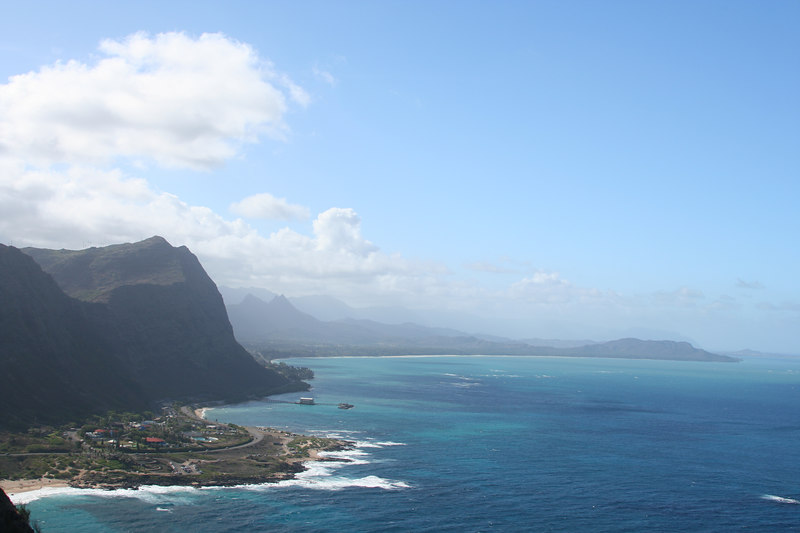 East coast of Oahu from the Makapu'u lighthouse trail.