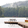 Lake Opeongo dock in Algonquin Provincial Park