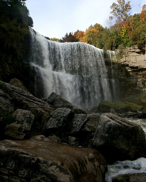 Websters Falls<br /> Dundas, Ontario
