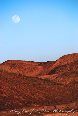 Moon over Picacho