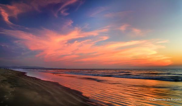 Sunset Afterglow ,Varca Beach Goa