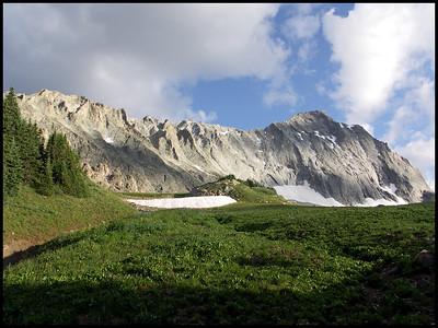 Capitol Peak, Aspen, Colorado, shot with my old Konica Minolta.