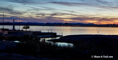 Lake Havasu at Dusk