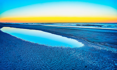 American Beach at Sunset x Copyright 2021 Steve Leimberg UnSeenImages Com L1020956-HDR