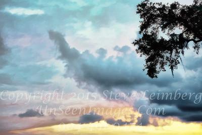 Sunset on Amelia - Copyright 2016 Steve Leimberg - UnSeenImages Com L1000099