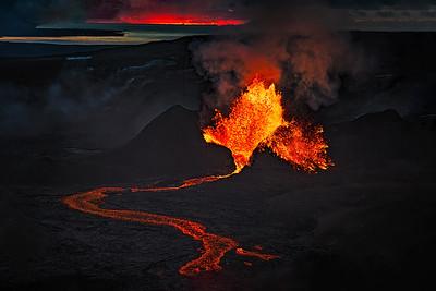 Fagradalsfjall Volcano Iceland Copyright 2021 Steve Leimberg UnSeenImages Com_DSC0840 copy