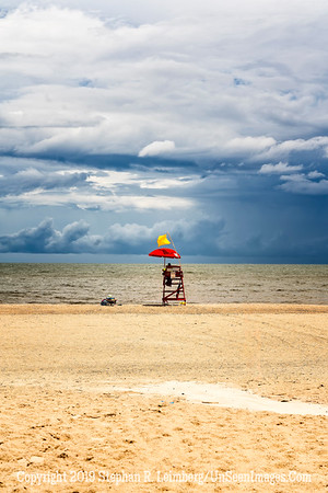 Lifeguard Before Storm - Copyright 2018 Steve Leimberg UnSeenImages Com _DSC4077