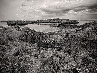 Lagoon West Iceland B&W Copyright 2021 Steve Leimberg UnSeenImages Com _DSF1697