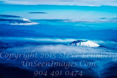 Snow Caped Mountains - Copyright 2016 Steve Leimberg - UnSeenImages Com L1120704
