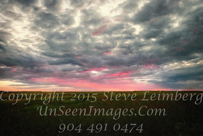 Sunset on the Marsh - Copyright 2016 Steve Leimberg - UnSeenImages Com L1080646