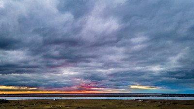 Magnificent Sunset on the Marsh Copyright 2020 Steve Leimberg UnSeenImages Com _0238-