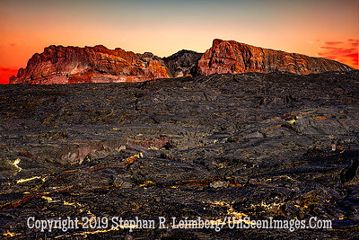Lava Field and Mountains  Copyright 2019 Steve Leimberg UnSeenImages Com _DSC6006