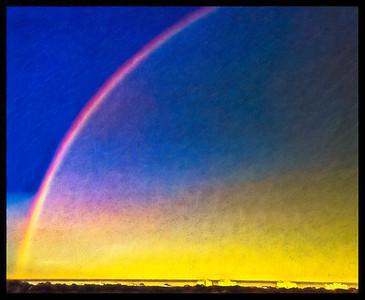 Rainbow PAINTING Copyright 2020 Steve Leimberg UnSeenImages Com DJI_0111