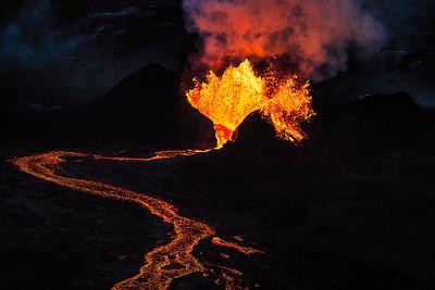 Fagradalsfjall Volcano Iceland Copyright 2021 Steve Leimberg UnSeenImages Com_DSC0830 copy