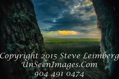 Sunset over Marsh - Amelia Island - Copyright 2015 Steve Leimberg - UnSeenImages Com _H1R6747