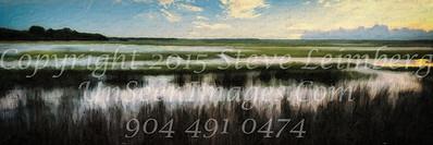 Marsh at Twilight - Copyright 2016 Steve Leimberg - UnSeenImages Com L1020276