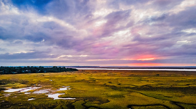 Winter's Sunset on the Marsh Copyright 2020 Steve Leimberg UnSeenImages Com _0001