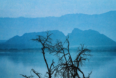 Blue Hour River Sceen Kenya Copyright 2020 Steve Leimberg UnSeenImages Com _DSC1613