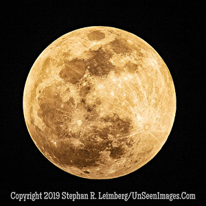 Supermoon - Jan 20 2019 Copyright 2019 Steve Leimberg UnSeenImages Com _Z2A8599