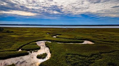 Darkness Falls on the Marsh Copyright 2020 Steve Leimberg UnSeenImages Com _0018