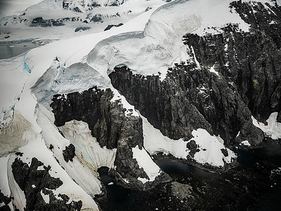 Looking Down at Glacier Copyright 2020 Steve Leimberg UnSeenImages Com _DSF6333-HDR