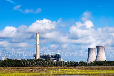 Cooling Tower Power Plant Hecksher Drive Copyright 2017 Steve Leimberg UnSeenImages Com L1000924