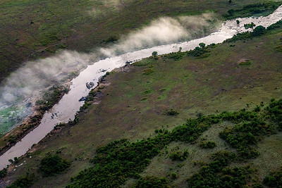 River in Kenya Early AM  Copyright 2020 Steve Leimberg UnSeenImages Com _DSC2409