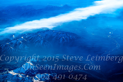 Mountains from Plane - Copyright 2017 Steve Leimberg UnSeenImages Com L1002677