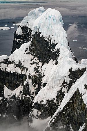 Two Monks Mountain Antarctica Copyright 2020 Steve Leimberg UnSeenImages Com _DSC5714