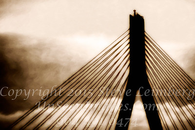 Bridge of Hope - PAINTING b&w Copyright 2017 Steve Leimberg UnSeenImages Com _Z2A1921