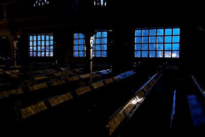 Church in Arvidsjaur - Norrbottens län, Sweden  - mehr dazu im Blog: Kunstwerke aus Eis