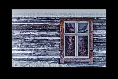 Am Fenster - Lappland, SchwedenAt the Window - Lappland, Sweden - mehr dazu in meinem Blog: Am Fenster