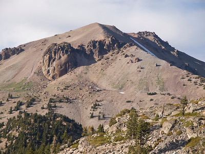 Vulcan's Eye on the slope of Mount Lassen